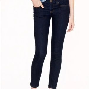 J Crew toothpick size 27 ankle jeans